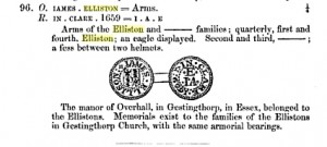 James Elliston of Clare Suffolk Farthing